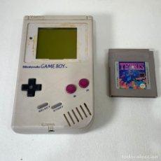 Videogiochi e Consoli: CONSOLA NINTENDO GAME BOY CLASICA GRIS - LA TOCHA + JUEGO TETRIS - FUNCIONA. Lote 276385238
