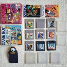 Videogiochi e Consoli: LOTE NINTENDO GAME BOY GAMEBOY JUEGOS ASTERIX ALADDIN TINTIN TERMINATOR MARIO RUGRATS PIOLIN.... Lote 276639743