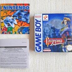 Videogiochi e Consoli: CAJA VACÍA PARA EL VIDEOJUEGO CASTLEVANIA LEGENDS DE NINTENDO GAME BOY GAMEBOY. Lote 276642113