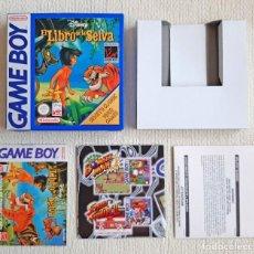 Videogiochi e Consoli: CAJA VACÍA E INSTRUCCIONES PARA EL VIDEOJUEGO EL LIBRO DE LA SELVA DE NINTENDO GAME BOY GAMEBOY. Lote 276643063