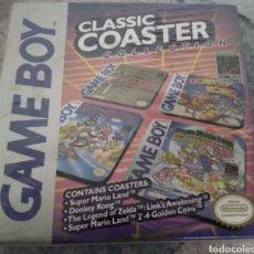 Videojuegos y Consolas: GAME BOY CLASSIC COASTER, SET POSAVASOS. MARIO, ZELDA, DONKEY KONG...SIN ABRIR. Lote 276749533