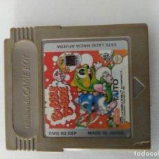 Videojuegos y Consolas: BUBBLE BOBBLE GAMEBOY NINTENDO GB ORIGINAL 100%. Lote 277119688
