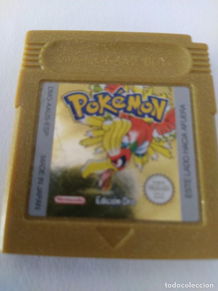 POKEMON ORO GAMEBOY NINTENDO GB ORIGINAL 100% PAL-ESPAÑA , NO GUARDA PARTIDA (Juguetes - Videojuegos y Consolas - Nintendo - GameBoy)