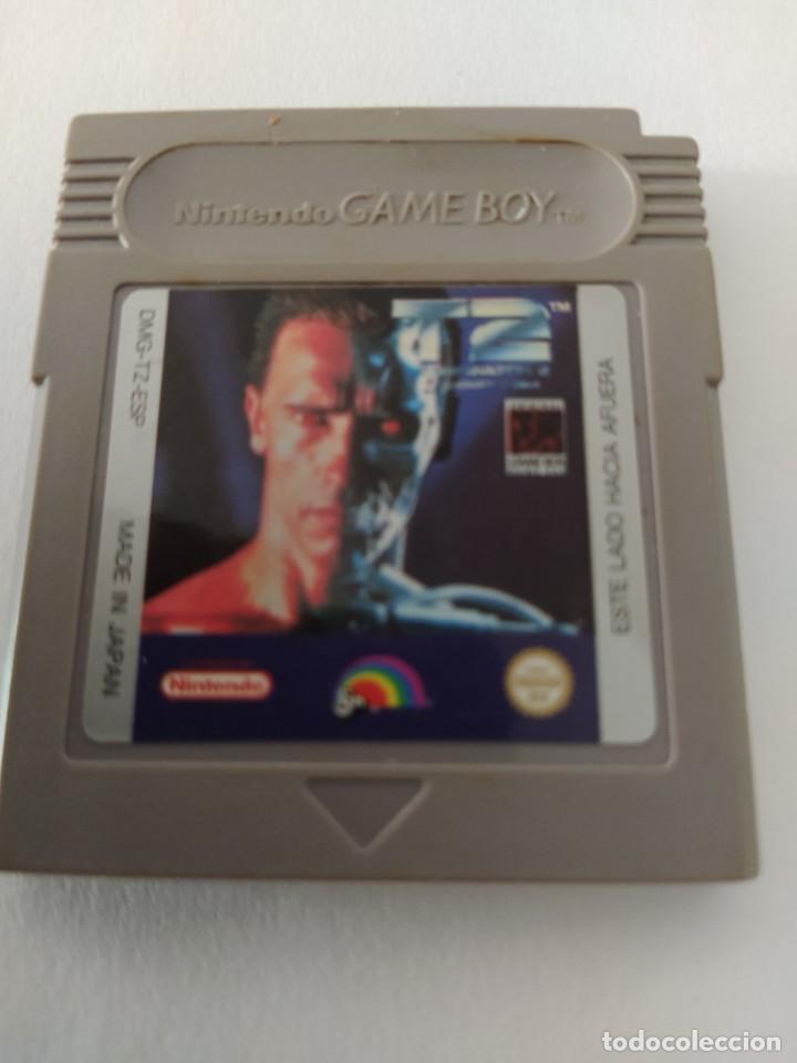 TERMINATOR 2 GAMEBOY NINTENDO GB ORIGINAL 100% PAL-ESPAÑA (Juguetes - Videojuegos y Consolas - Nintendo - GameBoy)