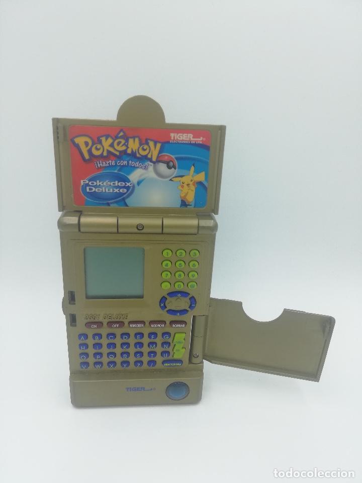 Videojuegos y Consolas: POKEDEX TIGER POKEMON 2001 NINTENDO - Foto 2 - 277454918