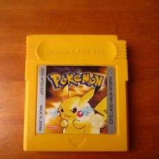 Videojuegos y Consolas: POKEMON AMARILLO EDICION PIKACHU (NINTENDO GAMEBOY). Lote 278300088