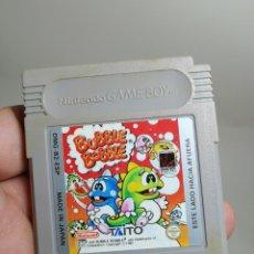 Videojuegos y Consolas: JUEGO DE GAMEBOY. BUBBLE BOBBLE. TAITO. 1991. . NINTENDO GAME BOY CARTUCHO. Lote 278405648