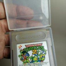 Videojuegos y Consolas: TEENAGE MUTANT NINJA TURTLES 2 NINTENDO GAME BOY CARTUCHO. Lote 278406418