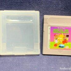 Videojuegos y Consolas: VIDEOJUEGO THE SIMPSONS BART VS THE JUGGERNAUTS NINTENDO GAME BOY MADE IN JAPAN BUEN ESTADO 7X6CMS. Lote 282868453