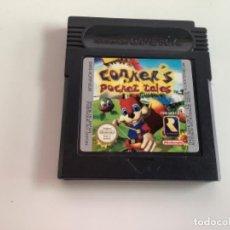 Videojuegos y Consolas: JUEGO. CONKER'S POCKET. TALES. GAMEBOY. Lote 285607318