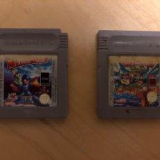 Videojuegos y Consolas: 2 JUEGOS GAME BOY MEGAMAN V Y SÚPER MARIO LAND 3(WARIO LAND). Lote 285753013