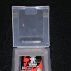 Videojuegos y Consolas: JUEGO NINTENDO GAME BOY - THE HUNT FOR RED OCTOBER - LA CAZA DEL OCTUBRE ROJO – 1991 PARAMONT PICTUR. Lote 286442368