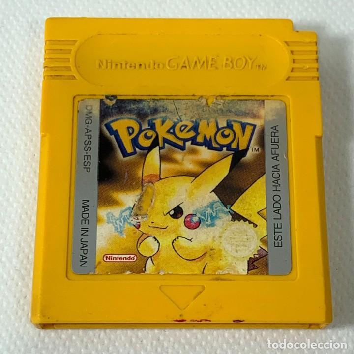 VIDEOJUEGO NINTENDO - GAMEBOY - GAME BOY - POKÉMON AMARILLO - ESP (Juguetes - Videojuegos y Consolas - Nintendo - GameBoy)