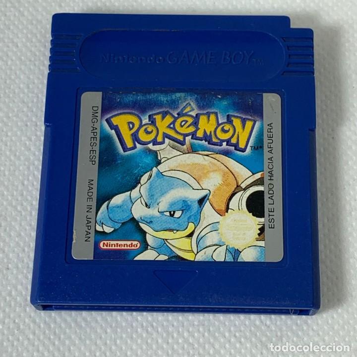 VIDEOJUEGO NINTENDO - GAMEBOY - GAME BOY - POKÉMON AZUL - ESP (Juguetes - Videojuegos y Consolas - Nintendo - GameBoy)