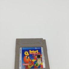 Videojuegos y Consolas: QBERT GAME BOY NINTENDO. Lote 287578228