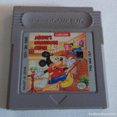 Videojuegos y Consolas: MICKEYS DANGEROUS CHASE GAME BOY CLASICA CAPCOM. Lote 287862428