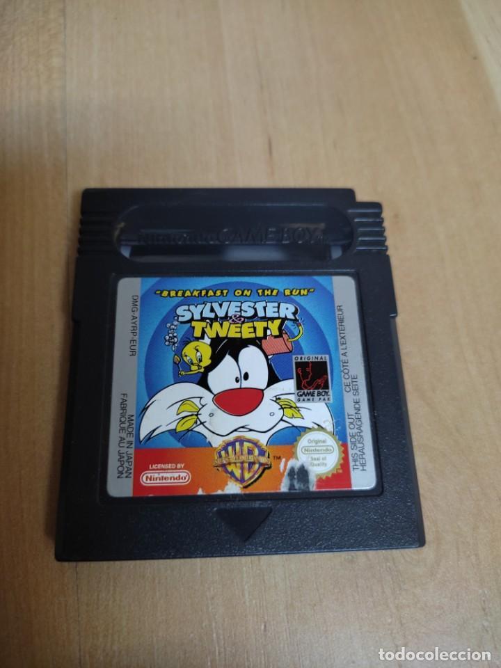 NINTENDO GAME BOY SYLVESTER AND TWEETY (Juguetes - Videojuegos y Consolas - Nintendo - GameBoy)