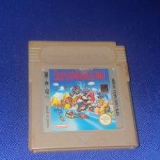 Videojuegos y Consolas: JEUGO SUPER MARIO LAND NINTENDO ORIGINAL GAMEBOY GAME. Lote 287962833