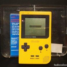 Videojuegos y Consolas: GAME BOY POCKET CON CAJA ORIGINAL AL PONERLE PILAS SE ENCIENDE, SIN JUEGOS. Lote 288196088