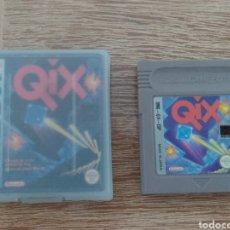 Videojuegos y Consolas: JUEGO GAME BOY QIX + CAJA Y CARATULA - NINTENDO GAMEBOY. Lote 288371943