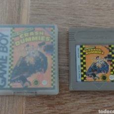 Videojuegos y Consolas: JUEGO GAME BOY CRASH DUMMIES + CAJA Y CARATULA - NINTENDO GAMEBOY. Lote 288373433