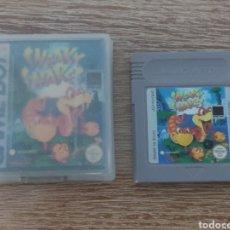 Videojuegos y Consolas: JUEGO GAME BOY SNEAKY SNAKES + CAJA Y CARATULA - NINTENDO GAMEBOY. Lote 288374208