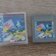 Videojuegos y Consolas: JUEGO GAME BOY REVENGE OF THE GATOR + CAJA Y CARATULA - NINTENDO GAMEBOY. Lote 288374758