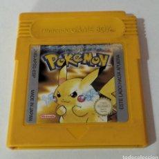 Videojuegos y Consolas: POKÉMON AMARILLO GAME BOY. Lote 288375693