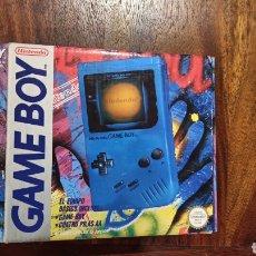 Videojuegos y Consolas: GAME BOY NINTENDO AZUL * RAREZA *. Lote 289360503