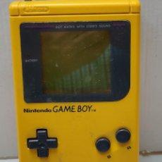 Videojuegos y Consolas: NINTENDO GAME BOY AMARILLA AÑO 1989 MODELO DGM-01. Lote 289467778