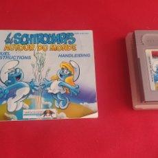 Videojuegos y Consolas: JUEGO PITUFOS NINTENDO GAME BOY +LIBRO . SIN PROBAR. Lote 293241438