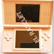 Videojuegos y Consolas: NINTENDO DS LITE - COLOR ROSA - CON FUNDA ROSA - MOD- NO. USG - 001- AÑO 2006- FUNCIONA PERFECTAMEN. Lote 293367828