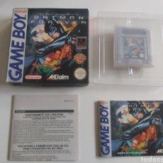 Videojuegos y Consolas: BATMAN FOREVER GAMEBOY NINTENDO GAME BOY. Lote 293511203