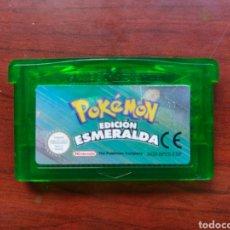 Videojuegos y Consolas: POKEMON ESMERALDA (SÓLO CARTUCHO) ORIGINAL, PAL ESPAÑA. Lote 295488033