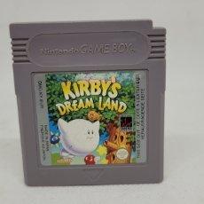 Videojuegos y Consolas: GAME BOY KIRBY'D DREAM LAND. GAMEBOY. DMG EUR. FUNCIONA.. Lote 296795348