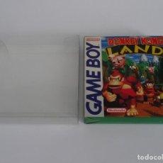 Videojuegos y Consolas: NINTENDO GAME BOY - DONKEY KONG LAND ED. ESPAÑOLA + FUNDA PROTECTORA PARA CAJA GB. Lote 297094353
