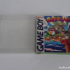 Videojuegos y Consolas: NINTENDO GAME BOY - WARIO LAND ED. ESPAÑOLA + FUNDA PROTECTORA PARA CAJA GB WARIOLAND. Lote 297095748