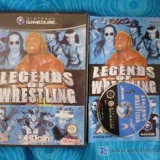 Videojuegos y Consolas: LEGENDS OF WRESTLING NINTENDO GAMECUBE PAL UK. Lote 135182583