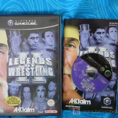 Videojuegos y Consolas: LEGENDS OF WRESTLING II NINTENDO GAMECUBE. Lote 25452038