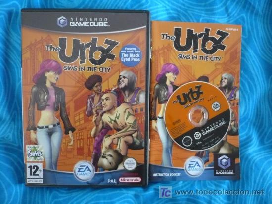 URBZ SIMS EN LA CIUDAD NINTENDO GAMECUBE PAL UK ( TEXTOS PANTALLA CASTELLANO ) (Juguetes - Videojuegos y Consolas - Nintendo - Gamecube)