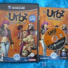 Videojuegos y Consolas: URBZ SIMS EN LA CIUDAD NINTENDO GAMECUBE PAL UK ( TEXTOS PANTALLA CASTELLANO ). Lote 25498278