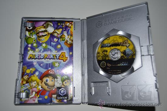 JUEGO CONSOLA GAMECUBE MARIO PARTY 4 NINTENDO (Juguetes - Videojuegos y Consolas - Nintendo - Gamecube)