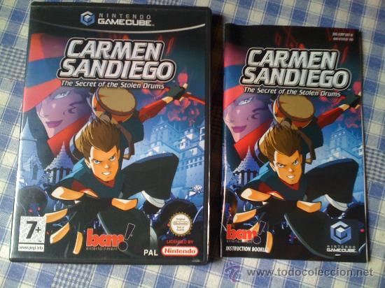 CARMEN SANDIEGO PARA LA NINTENDO GAMECUBE GAME CUBE PAL COMPLETO VERSIÓN INGLESA (Juguetes - Videojuegos y Consolas - Nintendo - Gamecube)