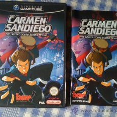 Videogiochi e Consoli: CARMEN SANDIEGO PARA LA NINTENDO GAMECUBE GAME CUBE PAL COMPLETO VERSIÓN INGLESA. Lote 26713563