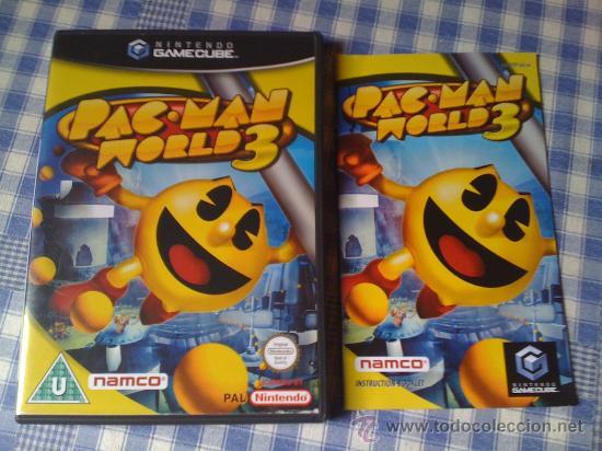 PAC MAN WORLD 3 PACMAN PARA LA NINTENDO GAMECUBE GAME CUBE PAL VIDEOJUEGOS SALCEDUS_JVR SALCEDUS (Juguetes - Videojuegos y Consolas - Nintendo - Gamecube)