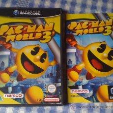 Videogiochi e Consoli: PAC MAN WORLD 3 PACMAN PARA LA NINTENDO GAMECUBE GAME CUBE PAL VIDEOJUEGOS SALCEDUS_JVR SALCEDUS. Lote 26713734