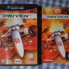 Videojuegos y Consolas: DRIVEN JUEGO PARA LA NINTENDO GAMECUBE Y WII GAME CUBE PAL COMPLETO. Lote 26734022