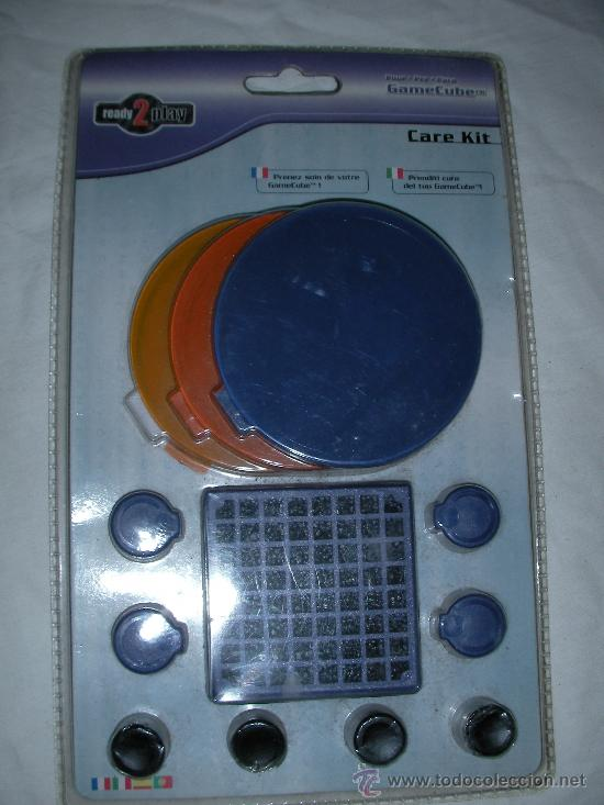 ANTIGUO BLISTER KIT PARA GAMECUBE (Juguetes - Videojuegos y Consolas - Nintendo - Gamecube)