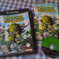 Videojuegos y Consolas: SHREK EXTRA LARGE PARA NINTENDO GAMECUBE Y WII PAL COMPLETO VERSIÓN ESPAÑOLA. Lote 27980954