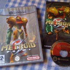 Videogiochi e Consoli: METROID PRIME PARA NINTENDO GAMECUBE Y WII PAL COMPLETO VERSIÓN ESPAÑOLA. Lote 27980957